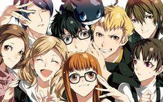 Persona 5 Akira Kurusu, Goro Akechi, Makoto Niijima, Haru Okumura, Ryuji Sakamoto, Yusuke Kitagawa, Ann Takamaki, Futaba Sakura, Morgana
