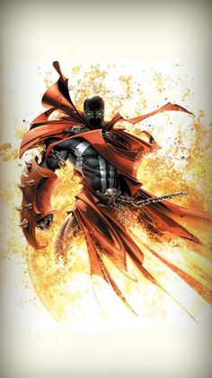 Spawn is just so dark and brutal i love his comic series. The HBO show was amazing also. I have a spawn tattoo on my right elbo Marvel Comics, Spawn Comics, Bd Comics, Anime Comics, Marvel Dc, Comic Book Characters, Comic Book Heroes, Comic Character, Comic Books Art