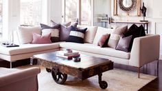Everything You Need For a Skillfully Styled Coffee Table via @domainehome