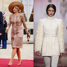 """"""": Claes Iversen  #queenmaxima #queen #netherlands #dutch #koninginmaxima #fashion #dress #beautyqueen #styleicon #claesiversen"""""""