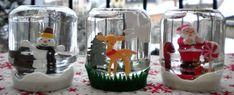 Voila une idée qui va ravir les enfants, faire une boule à neige. L'occasion rêvée de se servir des figurines en plastique qui dorment dans les tiroirs. Découvrez comment faire de jolies boules à neige.. Source : Madmoizelle.com tutoriel boule à neige
