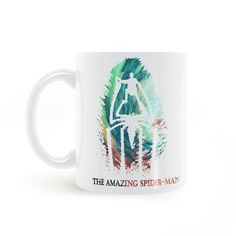 Find More Mugs Information about The Amazing Spider Man Superhero Mug Coffee Milk Ceramic  Creative DIY Gifts Home Decor Mugs 11oz T073,High Quality decorative mugs,China superhero mug Suppliers, Cheap mug coffee from Double Seven Store on Aliexpress.com