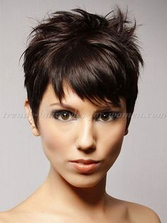 Fabulous Fringes Pixie Haircuts And Hairstyles For Oval Faces On Pinterest Short Hairstyles Gunalazisus