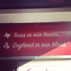 This sign is on the Three Lions Food truck. Perfect catering option for a British themed wedding? I think so!