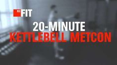 20-Minute Kettlebell Metcon