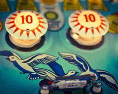 Pinball Arcade Photography Retro Nursery by NostalgiqueImages, $15.00