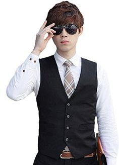 Minibee Men's Business 4 Button Suit Vest with Stretch (M... http://www.amazon.com/dp/B01DP8NAP0/ref=cm_sw_r_pi_dp_MLNpxb0BY5SZK