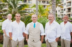 Well-Groomed: Well-Groomed Groom: Cancun Casual