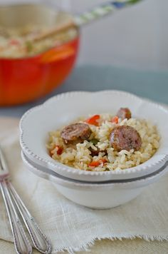 +The Church Cook: Roy's Spicy Sausage and Rice