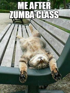 me after zumba class