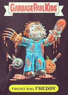 Freddy... haha I sure remember these.