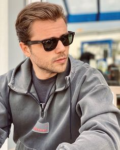 Instagram post by Tolga Sarıtaş • Apr 25, 2021 at 12:25pm UTC Turkish Actors, Wayfarer, Ray Bans, Mens Sunglasses, Instagram Posts, Style, Fashion, Swag, Moda