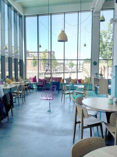Scandinavian Interior Design with pastel details – Café Himmelgrün in Augsburg © Auxkvisit