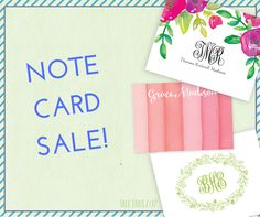 Buy one, get one FREE on all Printswell One & Folded Note Cards! This exclusive online sale is only available until July 27th.