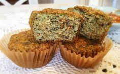 Zucchini & Pepita Muffins (Grain Free)