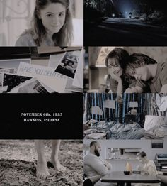 ❊◮Tv show Stranger Things❊◮; chapter one: the vanishing of will byers  ∟ joyce, this is hawkins, okay? you wanna know the worst thing that's ever happened here in the four years I've been working here? do you wanna know the worst thing? it was when an owl attacked eleanor gillespie's head because it thought that her hair was a nest.