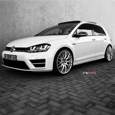 #MK7R #VW365 Golf R Mk7, Vw Golf R, Volkswagen Polo, Gti Mk7, Jetta Mk5, Transportation Design, My Ride, Super Cars, Automobile