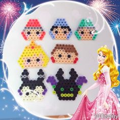Perler Beads, Hamma Beads 3d, Perler Bead Art, Easy Perler Bead Patterns, Perler Bead Templates, Diy For Kids, Crafts For Kids, Perler Bead Disney, Pixel Art