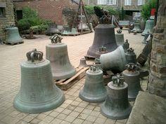 Fabrique de cloches à Villedieu les Poêles (Manche) Basse-Normandie