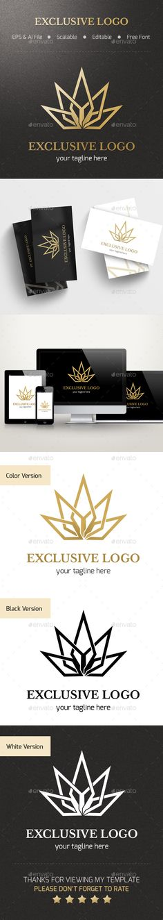 Exclusive  Logo Design Template Vector #logotype Download it here: http://graphicriver.net/item/exclusive-logo/14123922?s_rank=247?ref=nexion