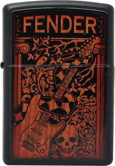 I didn't design this one, the artwork was from Fender, but I did make sure the color and contrast were correct and I sent it along to production, and it's a great design, so it always catches my eye.
