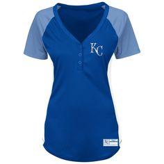 Kansas City Royals League Diva Ladies Fashion Shirt by Majestic