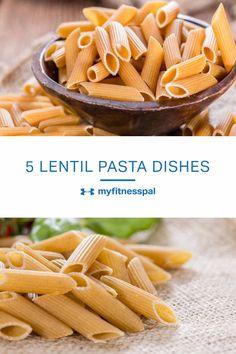Lentil pasta is chan