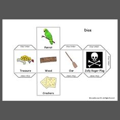 Loads of Pirate Themed Things (Lesson Pix Sharing Center) Speech Language Pathology, Speech And Language, Following Directions Activities, Speech Therapy, Occupational Therapy, School Ot, Receptive Language, Language School, Speech Room