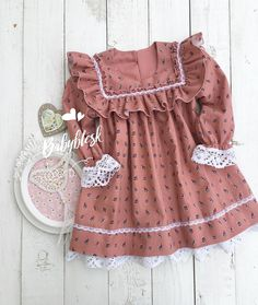 Ideas Sewing Patterns For Baby Clothes Toddler Dress Sewing Baby Clothes, Trendy Baby Clothes, Baby Clothes Patterns, Girl Dress Patterns, Baby Sewing, Sewing Patterns, Dress Sewing, Winter Outfits For Girls, Cute Outfits For Kids