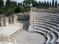 The Roman Odeon, in Kos Town, on the island of Kos in Greece  http://www.discoveringkos.com/
