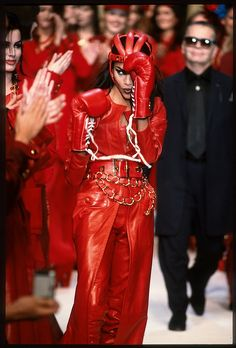 Red leather boxing gloves, Chanel-branded surfboards and high-fashion Y-fronts – look back at eight of Chanel's most memorable shows.
