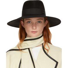 Shop from luxury labels, emerging designers and streetwear brands for both men and women. Wide-brim Hat, Love Hat, Black Felt, Felt Hat, Streetwear Brands, Hats For Women, Grosgrain, Brows, Luxury Fashion