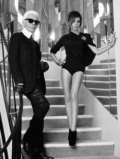 Victoria Beckham for Chanel