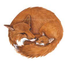 Mom Fox - Fox Art Fantastic Mr Fox, Fabulous Fox, Beaver Drawing, Wood Badge, Fox Crafts, Fox Pictures, Fox Jewelry, Woodland Art, Power Animal