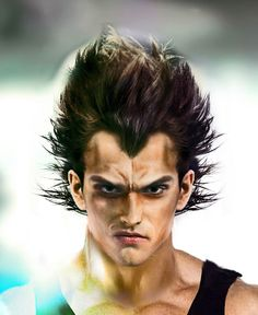 Artstation Vegeta Realistic Patrick Belfiore Visit Now For Dragon Ball Z Compression