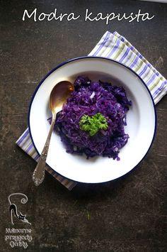 Kulinarne przygody Gatity: Modra kapusta