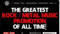 THE GREATEST ROCK METAL MUSIC PROMOTION DEALS OF ALL TIME!  HeavyMetalTshirts is a growing website with more than 50 Pages with no spam rating. On connected Facebook and Instagram accounts we have more than 25k people. This is a great chance for your BAND, MUSIC, ART or PRODUCT. I will publish your article about your BAND / PRODUCT / ALBUM with full description and tags.      BASIC-  Post your article on Website ($10