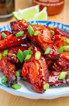 Low FODMAP Recipe and Gluten Free Recipe - Asian caramel chicken wings http://www.ibs-health.com/low_fodmap_asian_caramel_chicken_wings.html