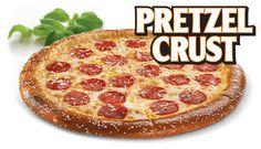 Enjoy the New Little Caesars Soft Pretzel Crust Pizza!! - www.MrsKathyKing.com