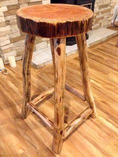 Next Post Previous Post Inspiring Rustic Log Bar Stools Ideas Rustic log wood stool furniture Next Post Previous Post Log Bar Stools, Rustic Stools, Rustic Wood, Rustic Log Furniture, Twig Furniture, Unique Furniture, Furniture Design, Outdoor Furniture, Furniture Cleaning