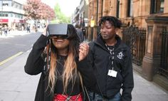 Generating empathy through #virtualreality. Amnesty International launches 'Virtual reality Aleppo' street fundraising campaign. #nonprofit #campaigning #VR #Syria