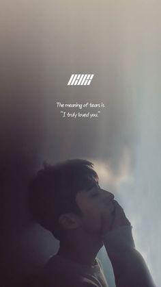 Song Lyrics Wallpaper, Wallpaper Quotes, Lyric Quotes, Life Quotes, Korea Quotes, Ikon Songs, Pop Lyrics, Kim Jinhwan, Ikon Kpop