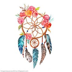 New Waterproof Romantic Dreamcatcher Wind Temporary Tattoo Stickers Feather Flowers Style Fake Tattoo Stickers Body Art Dream Catcher Tattoo Design, Dream Catcher Art, Mise En Page Portfolio, Aquarell Tattoo, Watercolor Dreamcatcher, 3d Rose, Fake Tattoos, Flower Fashion, Temporary Tattoo