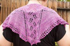 Ravelry: Boysenberry Sherbet Shawl pattern by Jeanne Giles