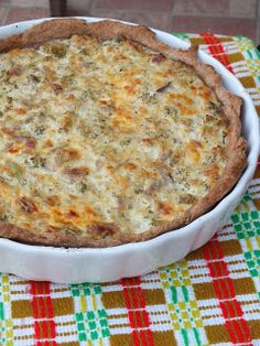 Tart Recipes, Quiche, Feta, Pizza, Cheese, Breakfast, Recipes, Morning Coffee, Cake Recipes