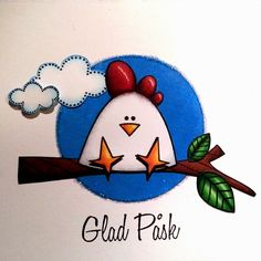 Gummiapan Hens, Cool Diy, Mandala, Card Making, Blog, Cool Stuff, Drawings, Scrapbooking, Birthday