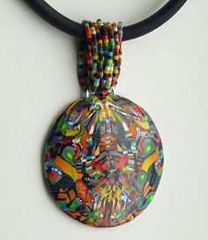 pendant-3-with-bead-bail, via Flickr. Bridget Derc