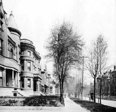 Old Louisville, KY: Third and Park Avenue intersection in 1897