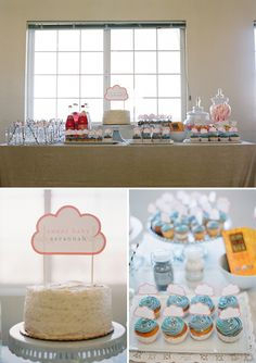 Cloud Themed Baby Shower