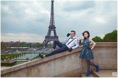 mimi & eddy Paris Pre Wedding under eiffel tower